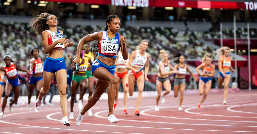 How Allyson Felix Won Her 11 Olympic Medals in Track
