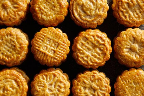 Honeyed Pistachio Mooncakes
