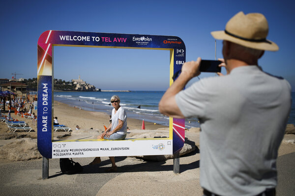 Tourists in Tel Aviv in 2019. That year, according to Tourism Ministry figures, 4.55 million visitors brought Israel $7.18 billion in revenue.