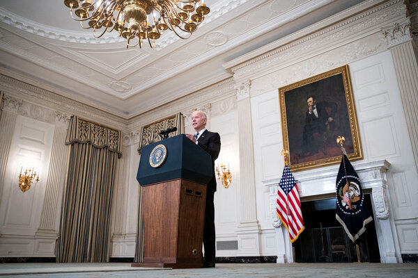 President Biden announced his sweeping new strategy to confront the coronavirus at the White House on Thursday.