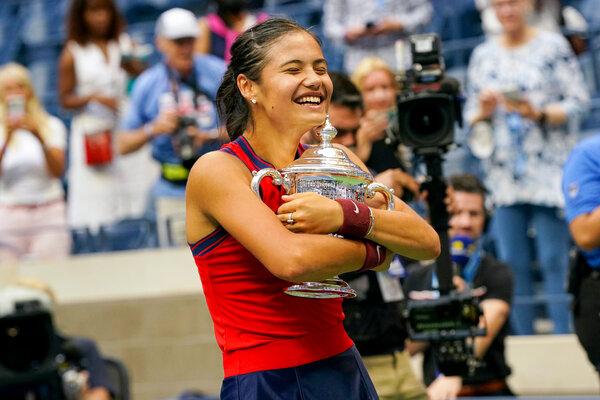 Emma Raducanu Defeats Leylah Fernandez for the U.S. Open Title - The New  York Times