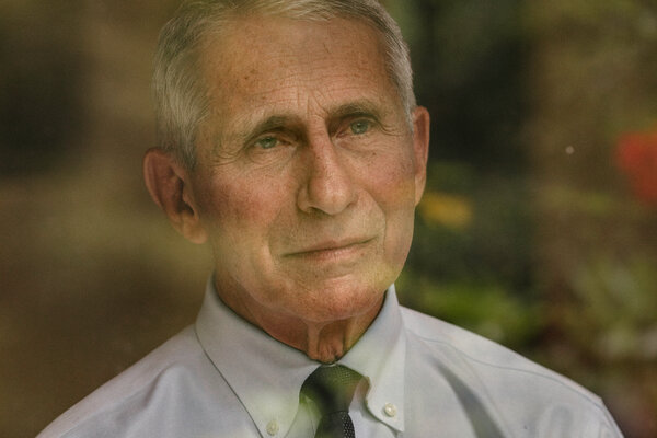 Dr. Anthony Fauci, the director of the National Institute of Allergy and Infectious Diseases and the chief medical adviser to the president, supports a vaccine mandate for air travel.