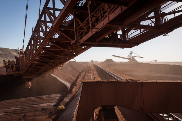 Australia's lucrative exports of iron ore to China have been unaffected so far.