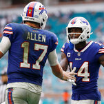 Bills Cruise in Rout of Dolpins