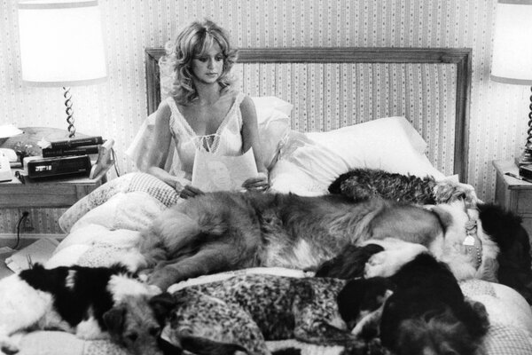 """Goldie Hawn in """"Seems Like Old Times"""" (1980), the only feature film Mr. Sandrich directed."""