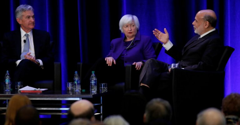 Janet Yellen and Jerome Powell warn that the Delta variant will delay recovery.