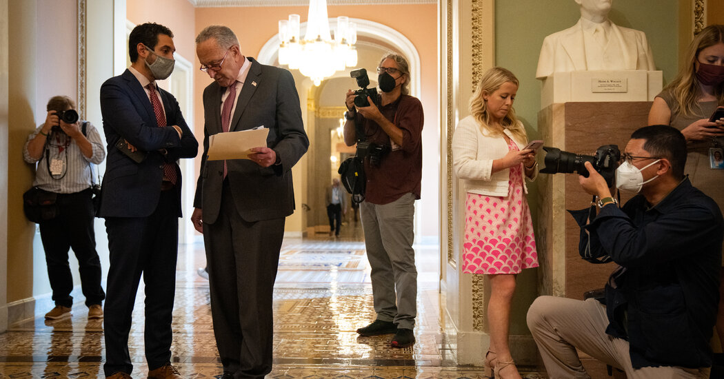 , Democrats Move to Avert Fiscal Crisis, Separating Debt and Spending Bills, The Evepost National News