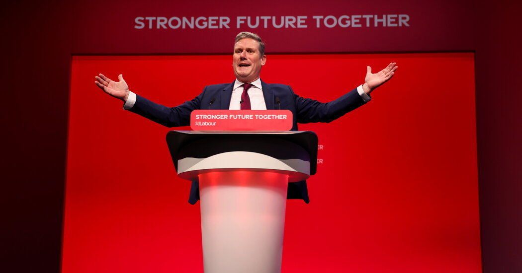 Keir Starmer seeks to push Labor to the political center