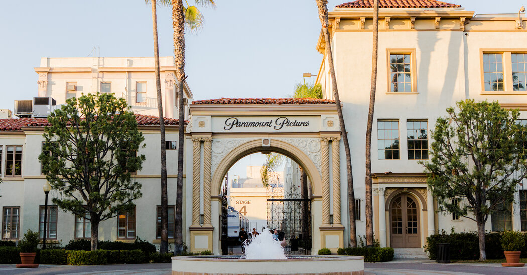 The new Paramount chairman continues to clean the house, showing the door to another executive.