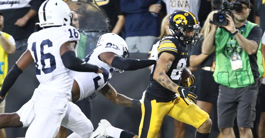 , Iowa Beats Penn State, Staking Claim Atop Big Ten Playoff Contenders, The Habari News New York