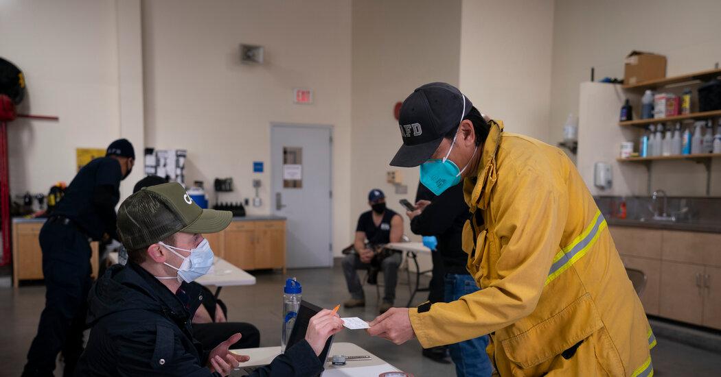 , Pockets of Vaccine Hesitancy Emerge Among U.S. Firefighters, The Habari News New York