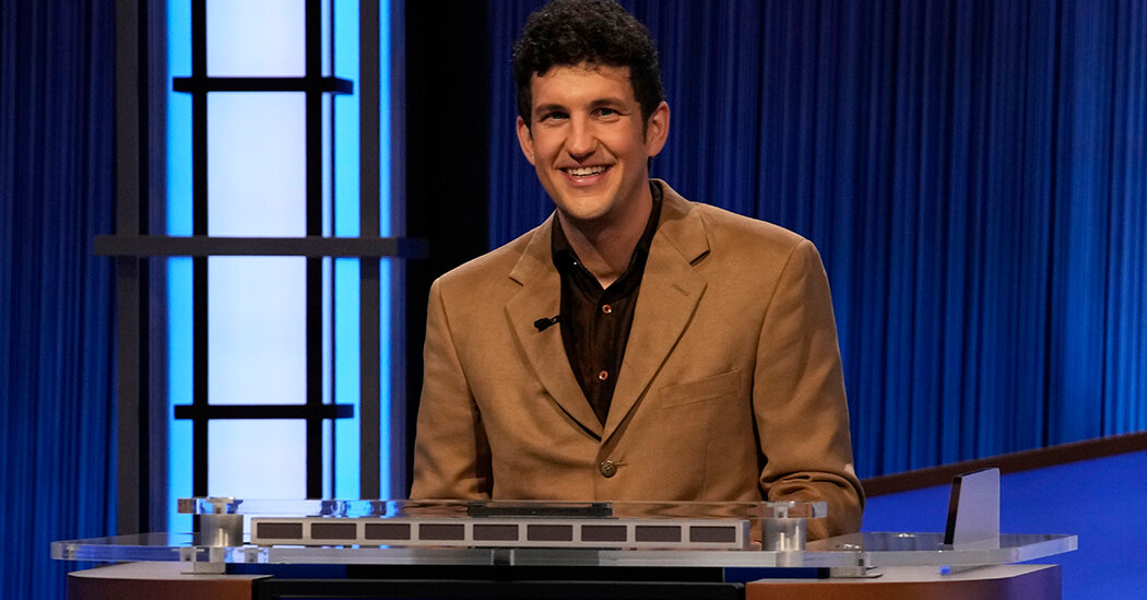 , Matt Amodio's 'Jeopardy!' Streak Ends After 38 Wins, Nzuchi Times National News