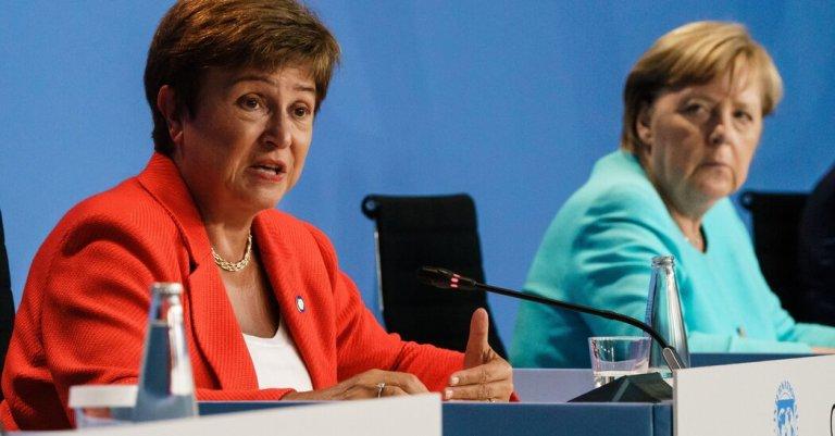 IMF management says Kristalina Georgieva can stay
