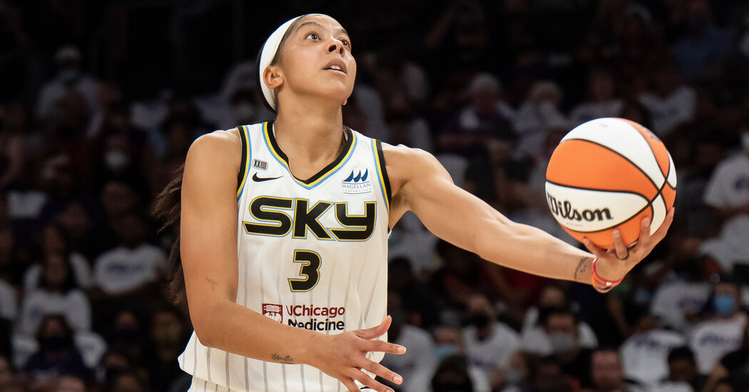 , Candace Parker Is the Calm, and the Storm, for the Chicago Sky, The Habari News New York