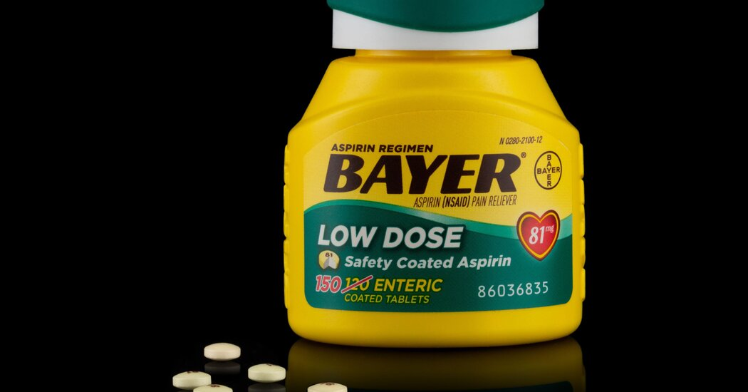 , Aspirin Use to Prevent 1st Heart Attack or Stroke Should Be Curtailed, U.S. Panel Says, The Habari News New York