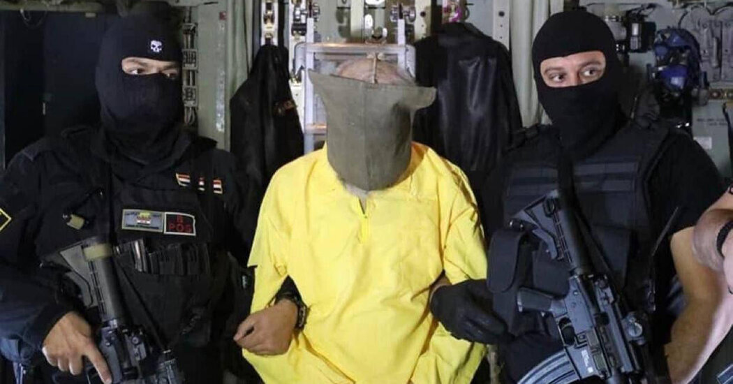 , Iraq Says It Arrested a Leading Islamic State Figure, The Habari News New York