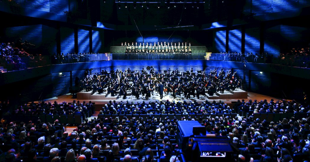, A Temporary Concert Hall Hopes for a Permanent Audience, The Habari News New York