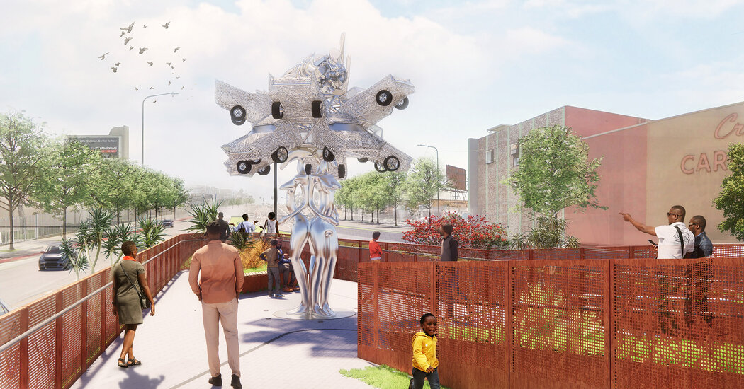, Destination Crenshaw Moves Ahead With a First Round of Public Sculptures, The Habari News New York
