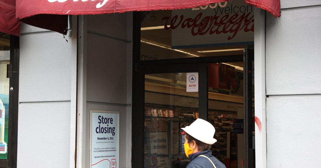, Walgreens to Close 5 Stores in San Francisco, Citing 'Organized' Shoplifting, The Habari News New York
