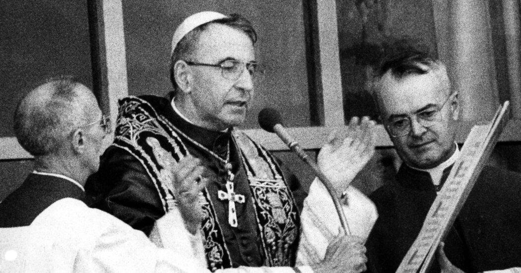 , John Paul I, Pope for 33 Days in 1978, Will Be Beatified, The Habari News New York