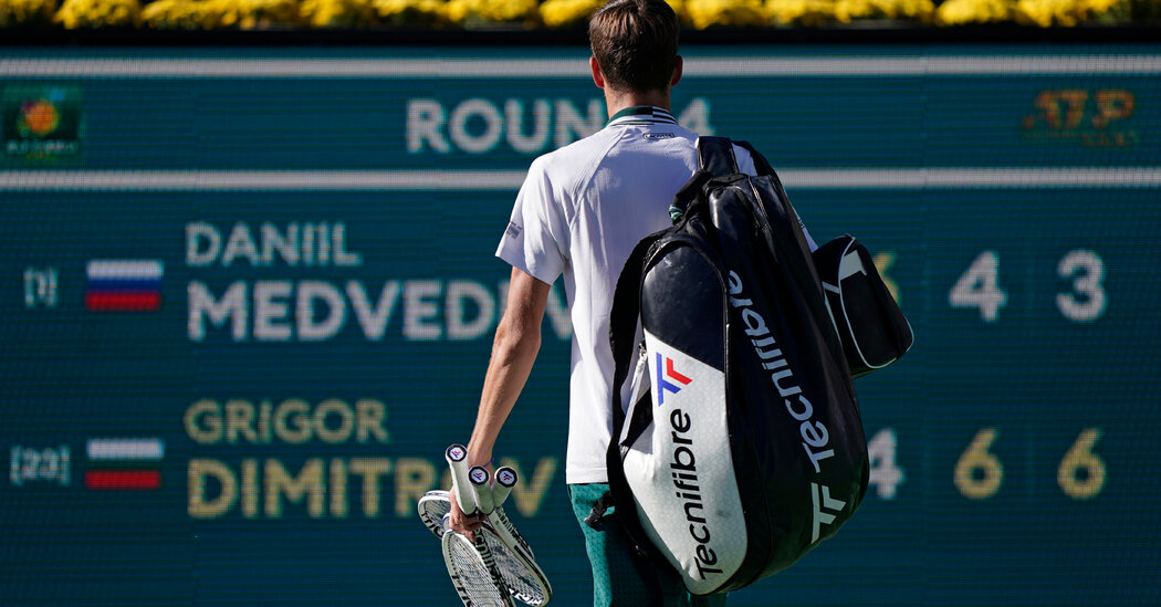 , U.S. Open Stars Fall at Indian Wells, Which Struggles to Draw a Crowd, The Habari News New York