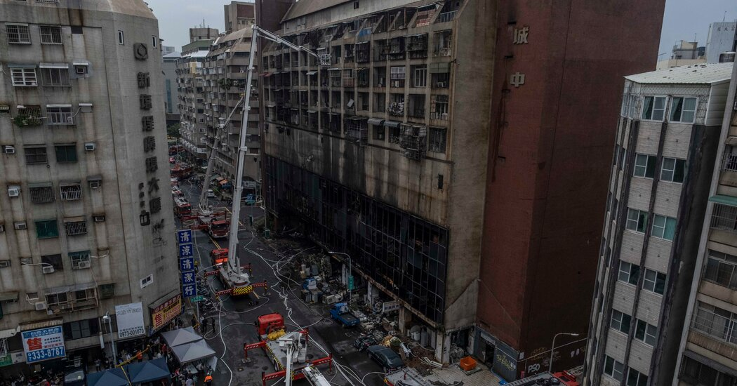 , 'It Was a Sea of Flames': At Least 46 Killed in Taiwan Apartment Fire, The Habari News New York