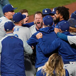 Dodgers Outlast the Giants to Reach the N.L.C.S.