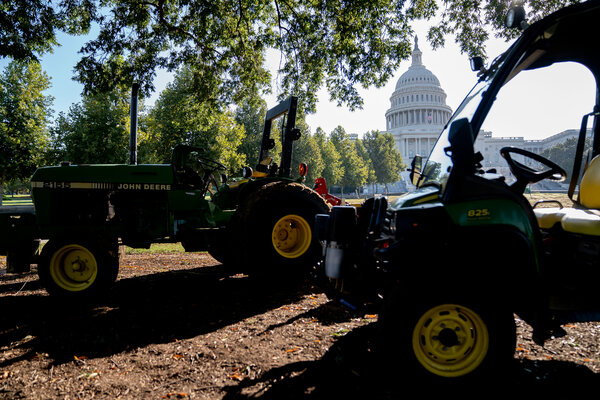, Thousands of Workers at John Deere Strike Over Contract, The Habari News New York