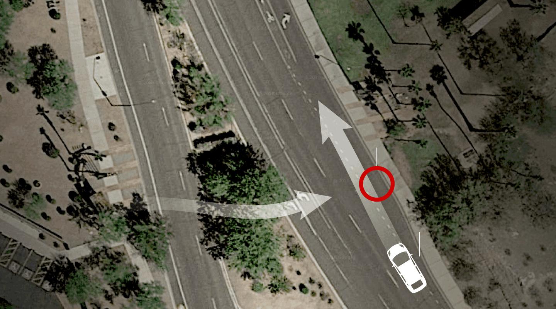 hight resolution of killed a pedestrian in arizona