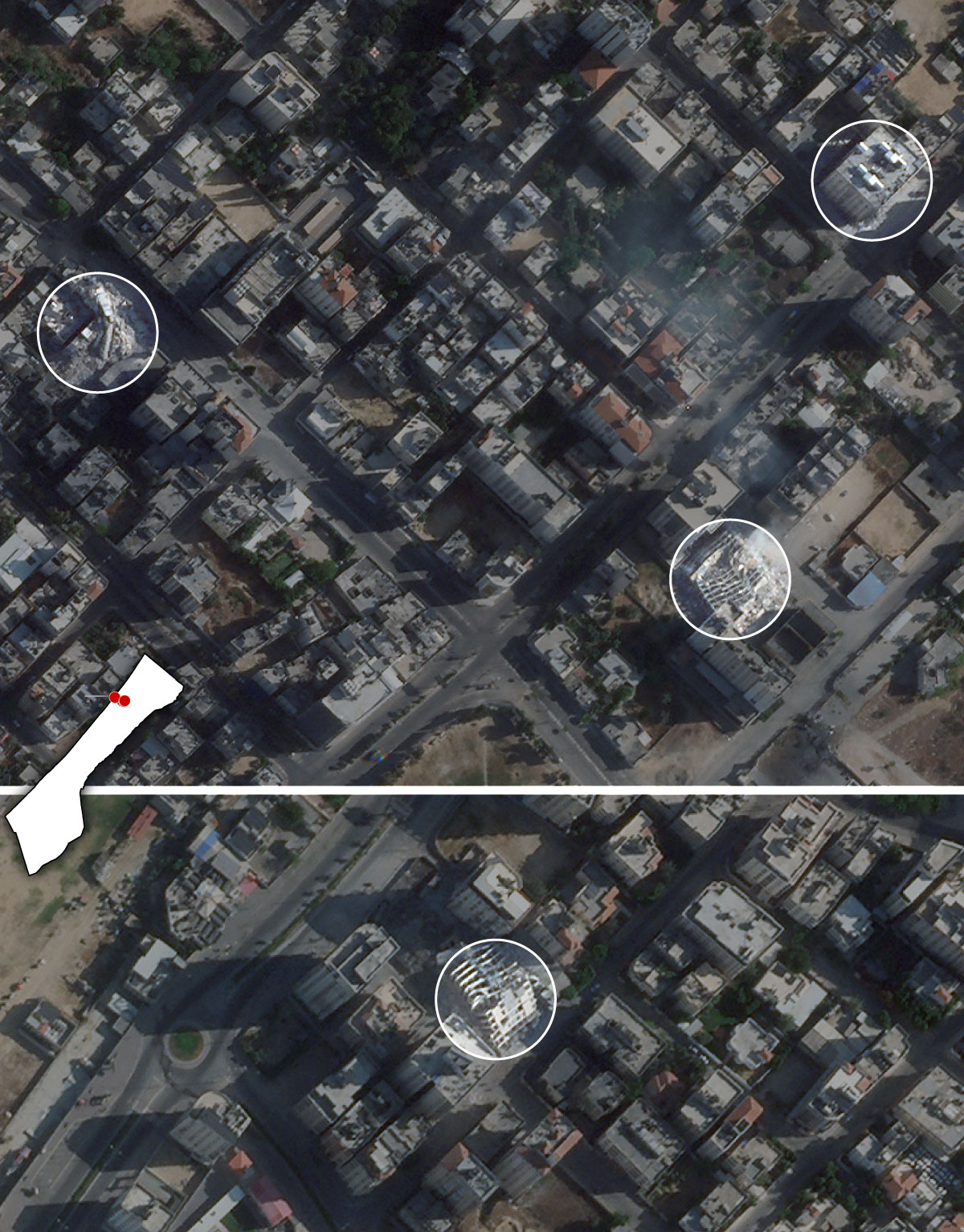 gaza city structures satellite Artboard 3