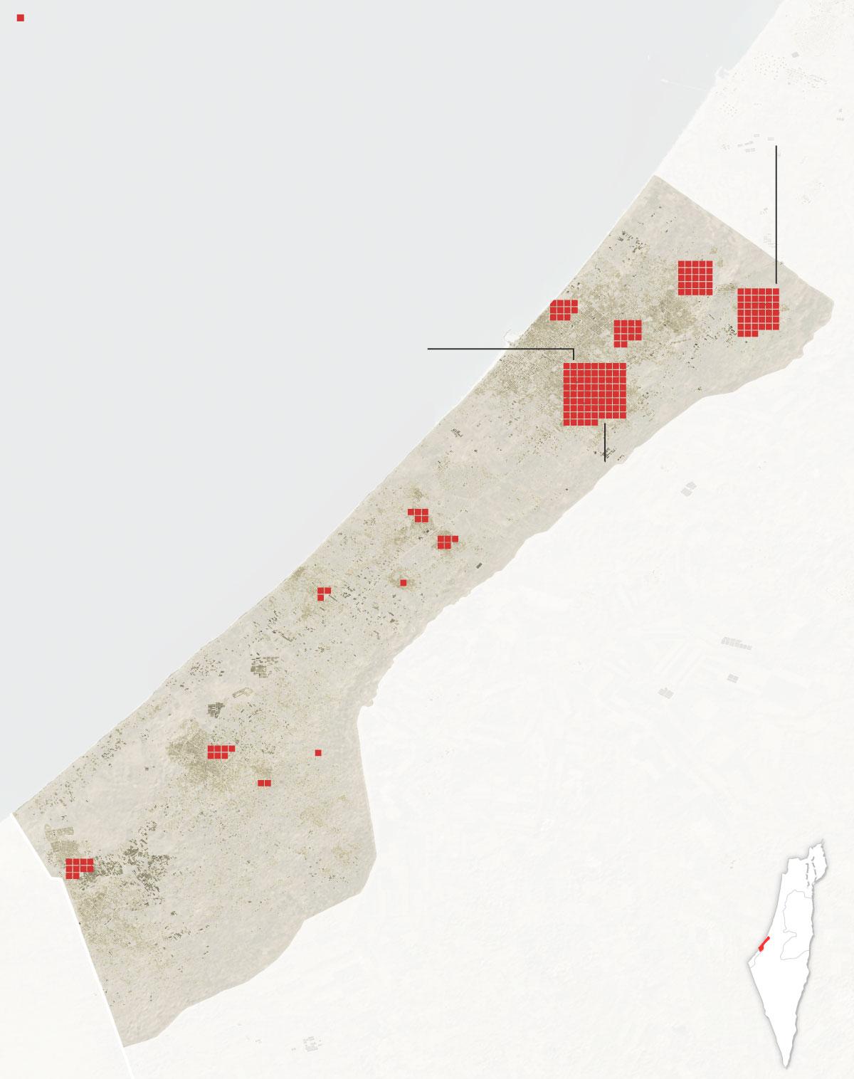 gaza deaths by city Artboard 4