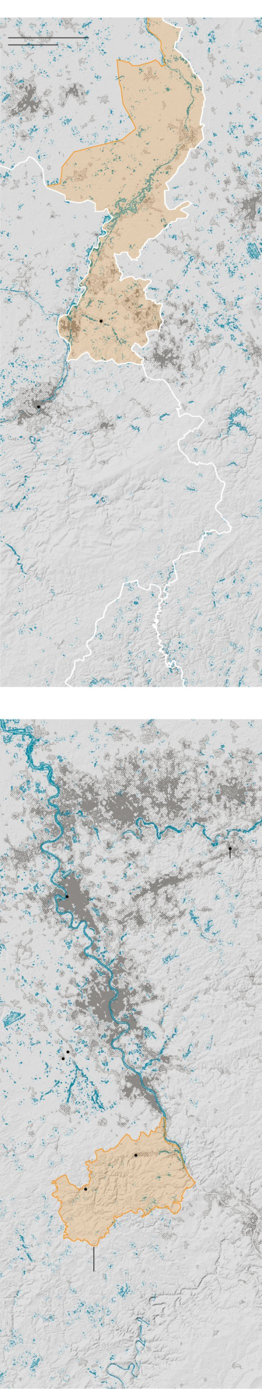 Maps Showing the Extent of the Flooding in Europe 5