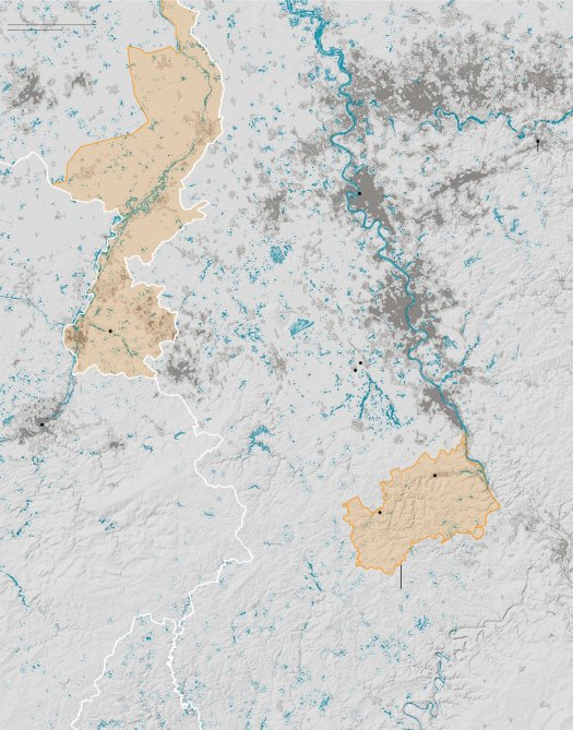 Maps Showing the Extent of the Flooding in Europe 7