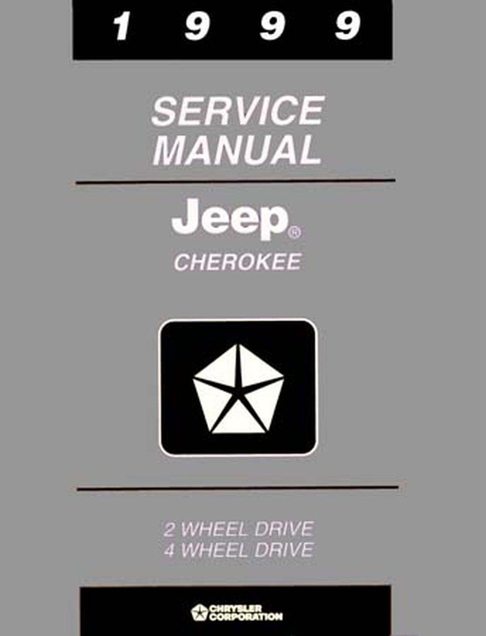 Bishko OEM Repair Maintenance Shop Manual Bound for Jeep