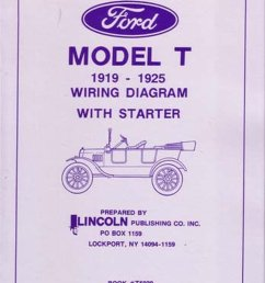 details about oem repair maintenance wiring schematics bound for ford model t 1919 1925 [ 989 x 1280 Pixel ]