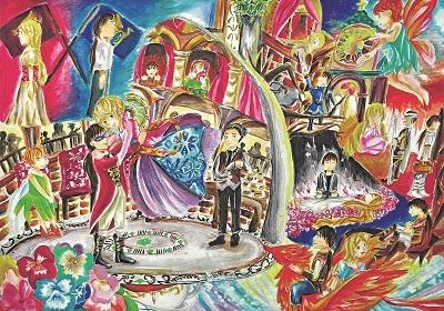 港生揚威國際畫展 梵高作品成創作靈感 - 香港經濟日報 - TOPick - 親子 - 親子資訊 - D170413