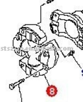 Komatsu Spare Parts Hd325-6 Spider Ass'y 569-20-61100