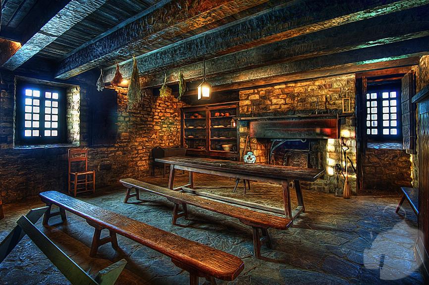 Stone Barn Castle Cleveland Ny