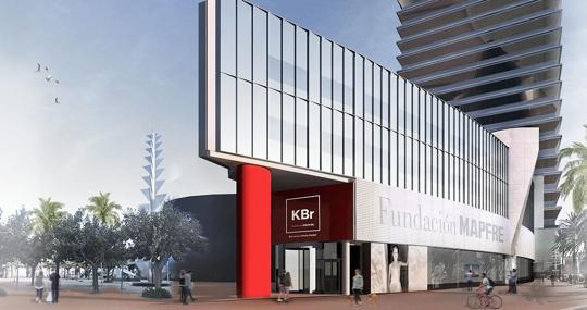 Facade of the new KBr