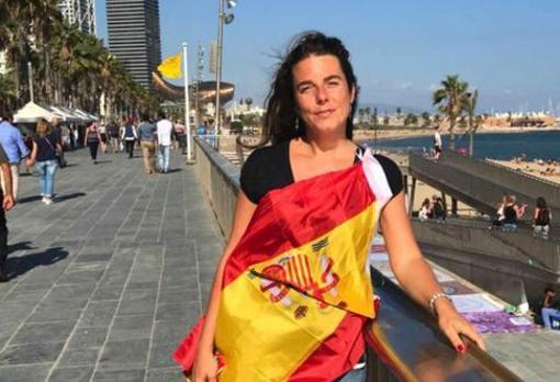 La concejal de Vox en Galapagar, Cristina Gómez