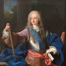 Luis como Rey de España,.