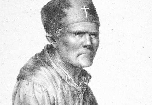 Retrato del cura Merino, el hombre que intentó matar a Isabel II