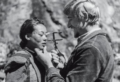 Mediciones durante la expedición