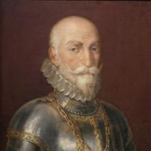 Don Álvaro de Bazán, por Rafael Tegeo. 1828.