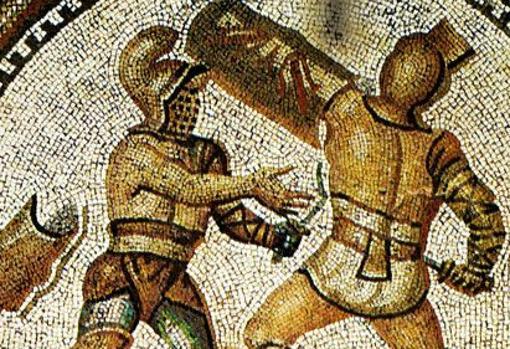 Combate entre reciarios
