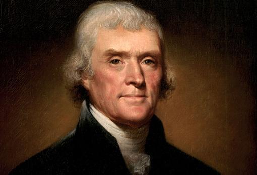 El retrasto más conocido de Thomas Jefferson