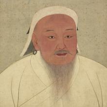 Retrato idealizado de Genghis Khan
