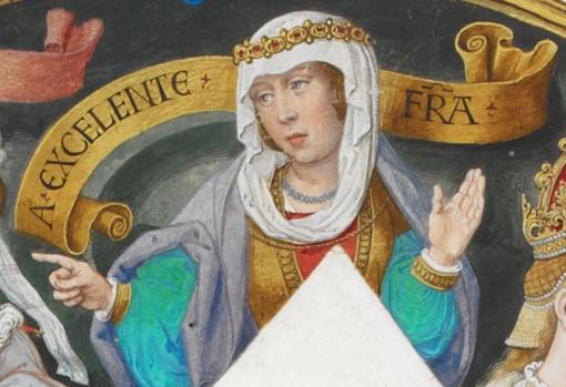 Juana, Reina consorte de Portugal.