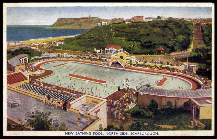 Swimming In Scarborough Battle Of The Bathing Pools Stories From Scarborough