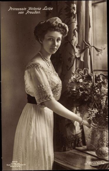 Ansichtskarte  Postkarte Prinzessin Viktoria Luise von  akpoolde